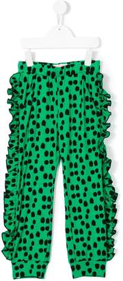 Bang Bang Copenhagen polka dot ruffle trousers