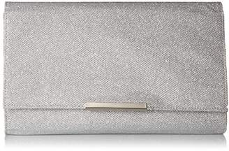 Jessica McClintock Women's Nora Large Envelope Glitter Clutch