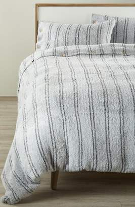 Barefoot Dreams R) CozyChic(R) Vertical Stripe Duvet Cover & Shams