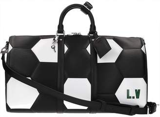 Louis Vuitton Keepall leather 24h bag