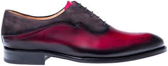 Mezlan Hanks Leather & Suede Oxford