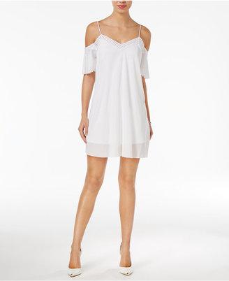 GUESS Monaco Off-The-Shoulder Dress $89 thestylecure.com