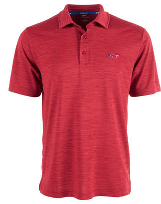 Greg Norman Attack Life by Men 5 Iron Space-Dye Performance Golf Polo