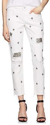 Blank NYC Blanknyc Women's The Ludlow Crop Girlfriend Jeans