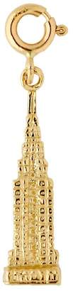 14K Yellow Gold Empire State Building Charm