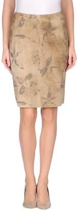 Mariella Burani Leather skirts