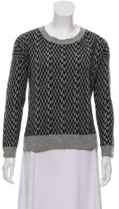 White + Warren Cashmere Patterned Sweater