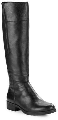 Bandolino Terusa Leather Panel Riding Boots $149 thestylecure.com