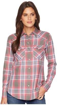 Lauren Ralph Lauren Plaid Western Shirt Women's Clothing