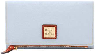 Dooney & Bourke Pebble Grain Foldover Wallet