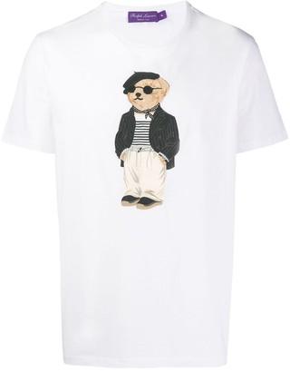 Ralph Lauren Purple Label artist bear T-shirt