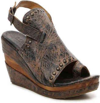 Women's Joann Wedge Sandal -Black $155 thestylecure.com