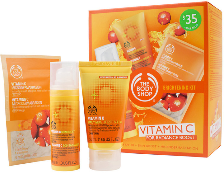 The Body Shop Vitamin C Brighten Kit