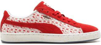 Puma Suede Classic x Hello Kitty sneakers