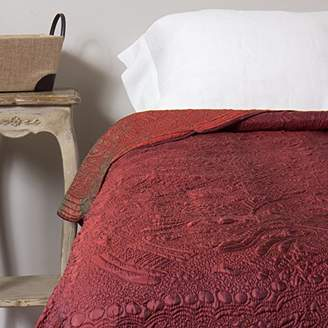 Be-You-tiful Home Ambrossia Red Twin Quilt