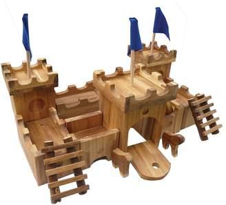 QToys Wooden Medieval Castle