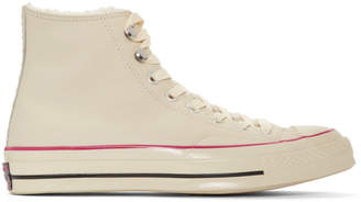 Converse Off-White Street Warmer Chuck 70 High Sneakers