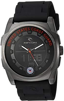 Rip Curl ' KAOS' Quartz Stainless Steel and Polyurethane Casual Watch