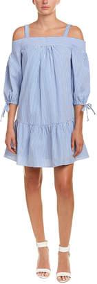 Kensie Drawstring Shift Dress