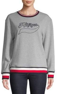 Tommy Hilfiger Contrast Logo Sweatshirt