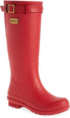 Pendleton BOOT Embossed Tall Rain Boot