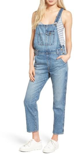 Women's Ag Leah Linen Overalls