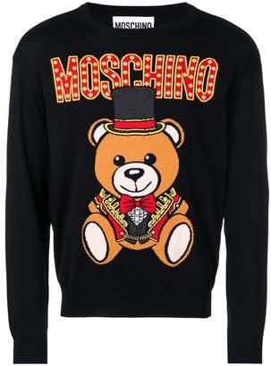 Moschino bear knitted jumper