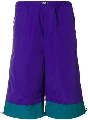 drawstring knee-length shorts - Pink & Purple Common Wild j2Qio7cbV