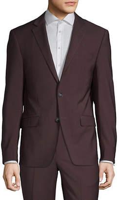 Calvin Klein Slim-Fit Wool-Blend Suit Jacket