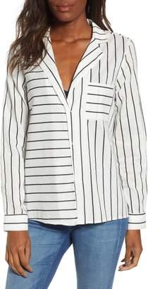 Noisy May Jack Stripe Shirt