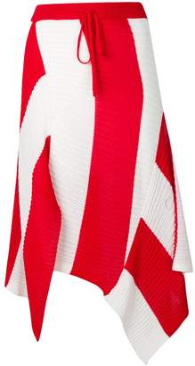 Marques Almeida Marques'almeida asymmetric knitted skirt
