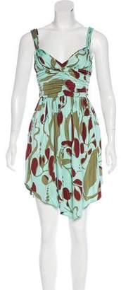 Mara Hoffman Silk Jersey Mini Dress