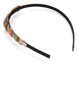 Marie Hayden Square Beads Headband