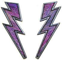 Mignonne Gavigan Lightning Bolt Thread Earrings