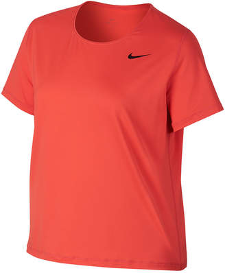 Nike Plus Size Pro Dri-fit Mesh Top