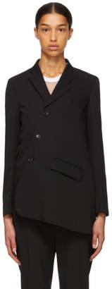 Comme des Garcons Black Asymmetrical Jacket