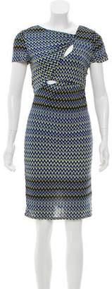 Versus Printed Knee-Length Dress