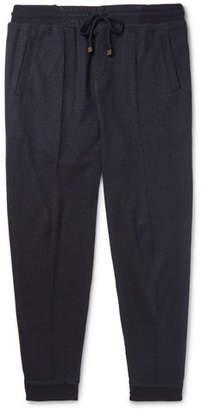 Brunello Cucinelli Slim-Fit Cashmere-Blend Sweatpants
