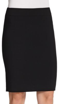 Armani Collezioni Armani Collezioni Featherweight Wool Pencil Skirt