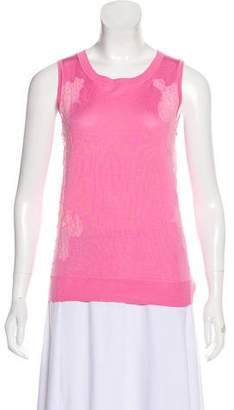 Nina Ricci Sleeveless Knit Top