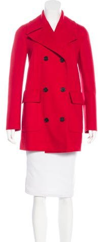 Valentino Valentino Virgin Wool & Cashmere Coat