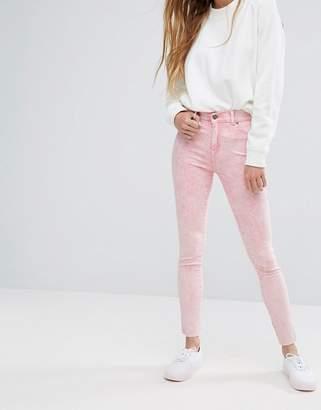 Dr. Denim Plenty Mid Rise Jeans with Raw Hem