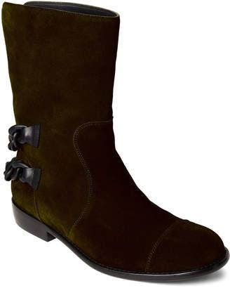 Giuseppe Zanotti Caky Blade Suede Chain Boots