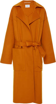 Blend of America Nanushka Alamo wool and silk jacket