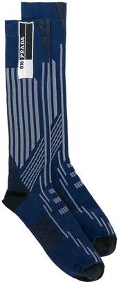 Prada colour-block socks