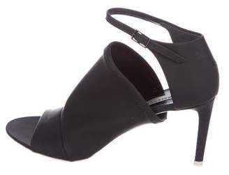 Balenciaga Neoprene Ankle-Strap Sandals
