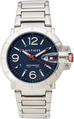 Tommy Hilfiger 1791258 Silver-Tone Turbo Watch