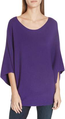 Eileen Fisher Kimono Sleeve Merino Wool Sweater