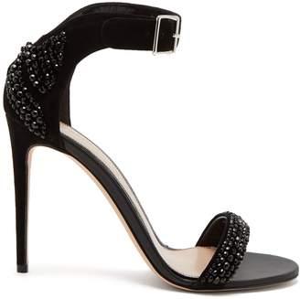 1b9680e8b75 Alexander McQueen Black Sandals For Women - ShopStyle Australia