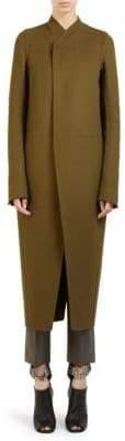 Rick Owens Wool Tusk Coat
